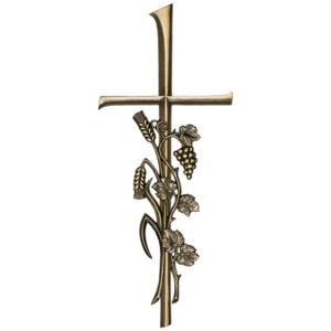Kreuz mit Trauben + Ähre